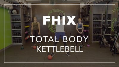 FHIX (Finisher) with Simon | Total Body Kettlebell by Fhitting Room