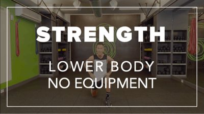 Strength with Jason | Lower Body No Equipment by Fhitting Room