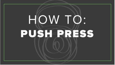 How To: Push Press by Fhitting Room
