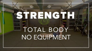 Strength with Ben | Total Body No Equipment by Fhitting Room