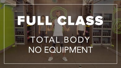 Full Class with Simon | Total Body No Equipment by Fhitting Room