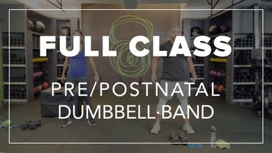 Pre/Postnatal Class with Farouk | Total Body Dumbbell · Band by Fhitting Room