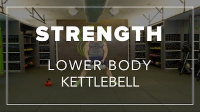 Strength with Garen | Lower Body Kettlebell by Fhitting Room