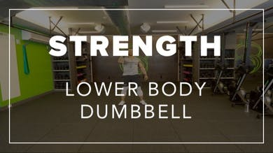 Strength with Dennys | Lower Body Dumbbell by Fhitting Room
