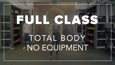 Full Class with Tara | Total Body No Equipment by Fhitting Room