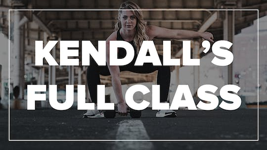Kendall's Full Class by Fhitting Room