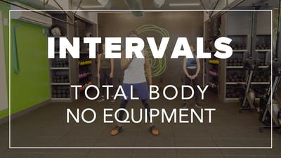Intervals with Simon | Total Body No Equipment by Fhitting Room