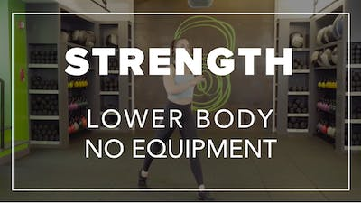 Strength with Mel | Lower Body No Equipment by Fhitting Room