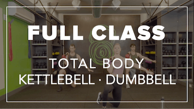 Full Class with Kendall | Total Body Kettlebell · Dumbbell by Fhitting Room