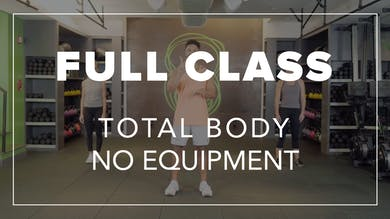Full Class with BLD | Total Body No Equipment by Fhitting Room