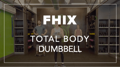 FHIX (Finisher) with Brooke | Total Body Dumbbell by Fhitting Room