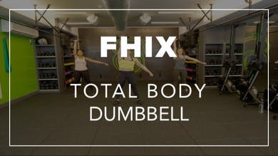 FHIX (Finisher) with Mel | Total Body Dumbbell by Fhitting Room
