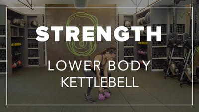 Strength with Tara | Lower Body Kettlebell by Fhitting Room