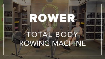 Rower with Eric | Total Body Rowing Machine by Fhitting Room