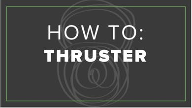 How To: Thruster by Fhitting Room