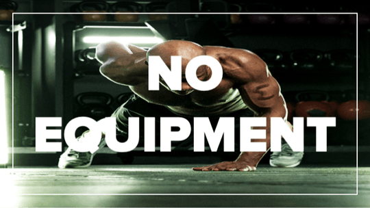 No Equipment by Fhitting Room