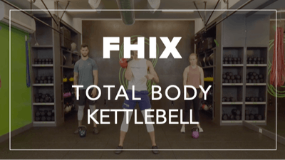 FHIX (Finisher) with Rich | Total Body Kettlebell by Fhitting Room