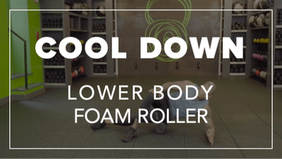 Cool Down with Daury | Lower Body Foam Roller by Fhitting Room