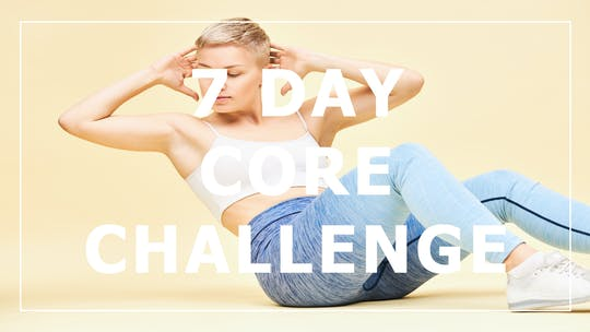 7 Day Core Challenge by Fhitting Room