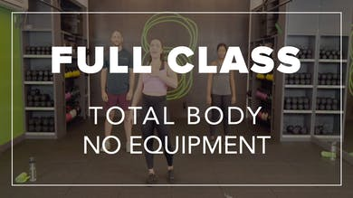 Full Class with Mel | Total Body No Equipment by Fhitting Room
