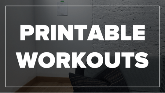Printable Workouts by Fhitting Room