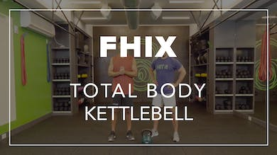 FHIX (Finisher) with Farouk + BLD |  Total Body Kettlebell by Fhitting Room