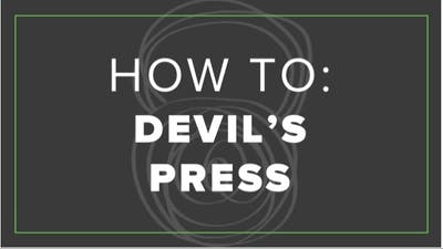 How To: Devils Press by Fhitting Room