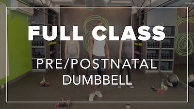 Pre/Postnatal Class with Simon | Total Body Dumbbell by Fhitting Room
