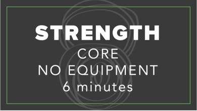 Strength | Core No Equipment | 6 Minutes by Fhitting Room