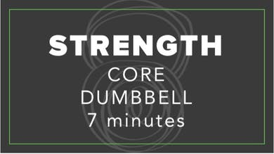 Strength | Core Dumbbell | 7 Minutes by Fhitting Room