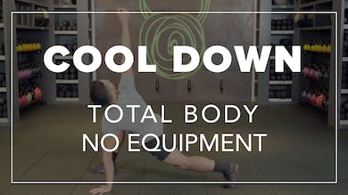 Cool Down with Chris | Total Body No Equipment by Fhitting Room