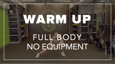 Warm Up with Eric | Total Body No Equipment by Fhitting Room
