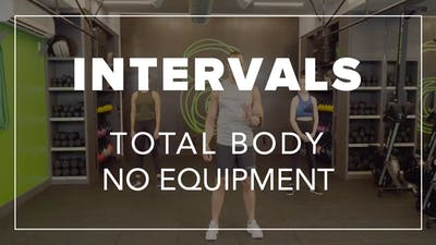 Intervals with Eric | Total Body No Equipment by Fhitting Room