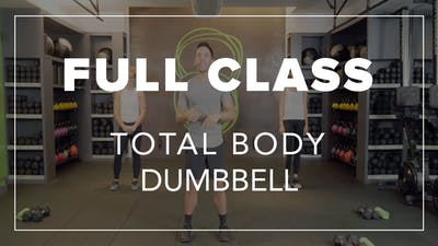 Full Class with Chris | Total Body Dumbbell by Fhitting Room