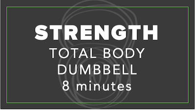 Strength | Total Body Dumbbell | 8 Minutes by Fhitting Room