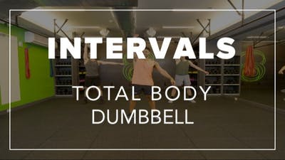 Intervals with BLD | Total Body Dumbbell by Fhitting Room