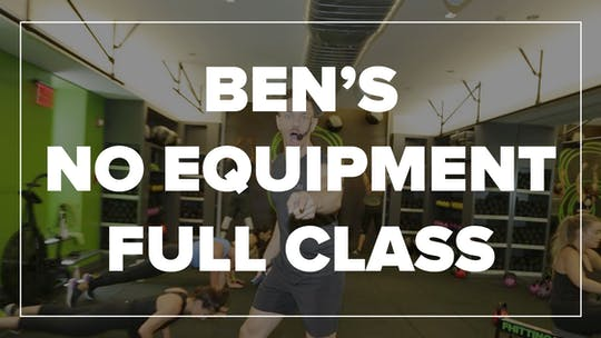 Ben's No Equipment Full Class by Fhitting Room