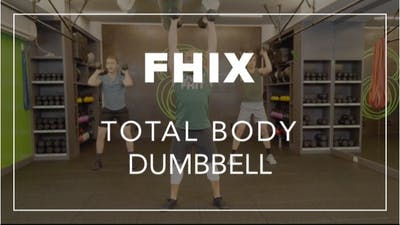 FHIX (Finisher) with Farouk | Total Body Dumbbell by Fhitting Room