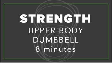 Strength | Upper Body Dumbbell | 8 Minutes by Fhitting Room