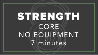 Strength | Core No Equipment | 7 Minutes by Fhitting Room