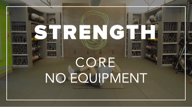 Strength with Simon | Core No Equipment by Fhitting Room