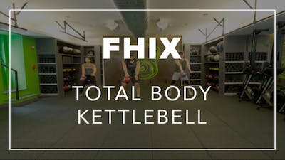 FHIX (Finisher) with Carlos | Total Body Kettlebell by Fhitting Room
