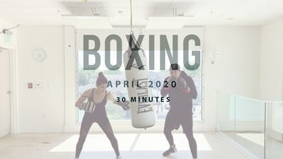 BOXING with Santiago 4.24 by Romney Studios