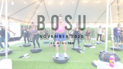BOSU with Amanda 11.25.20 by Romney Studios