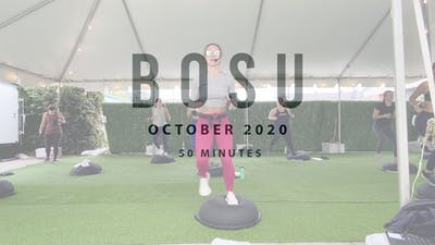 BOSU with Megan 10.19 by Romney Studios