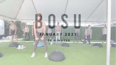 BOSU with Megan 1.1.21 by Romney Studios