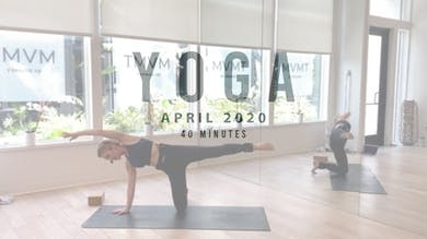 YOGA with Megan - LIVE STREAM by Romney Studios