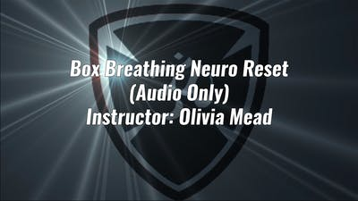 Box Breathing Neuro Reset (Audio) by Yogashield Yoga For First Responders
