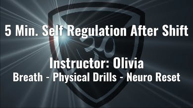 5 Min. Self Regulation After Shift by Yogashield Yoga For First Responders