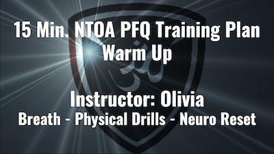 NTOA PFQ Training Plan Warm Up by YogaShield Yoga For First Responders